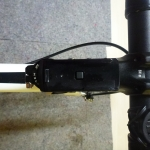 Halterung für GPSMap 62 ST am Vorbau (Rennrad)